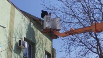 Прокарване на въздушни и височинни комуникации