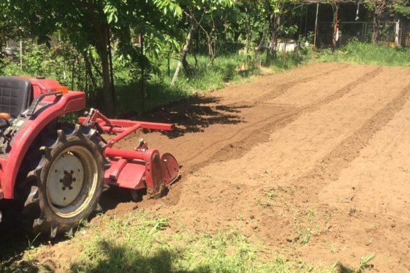 Услуги с мини трактор